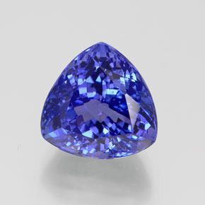 Trillion Natural Violet Blue Tanzanite