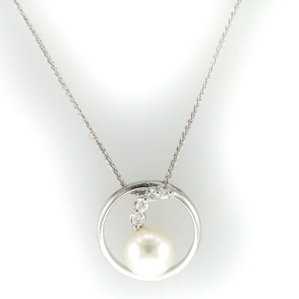 Pearl on Baby Wheat Chain