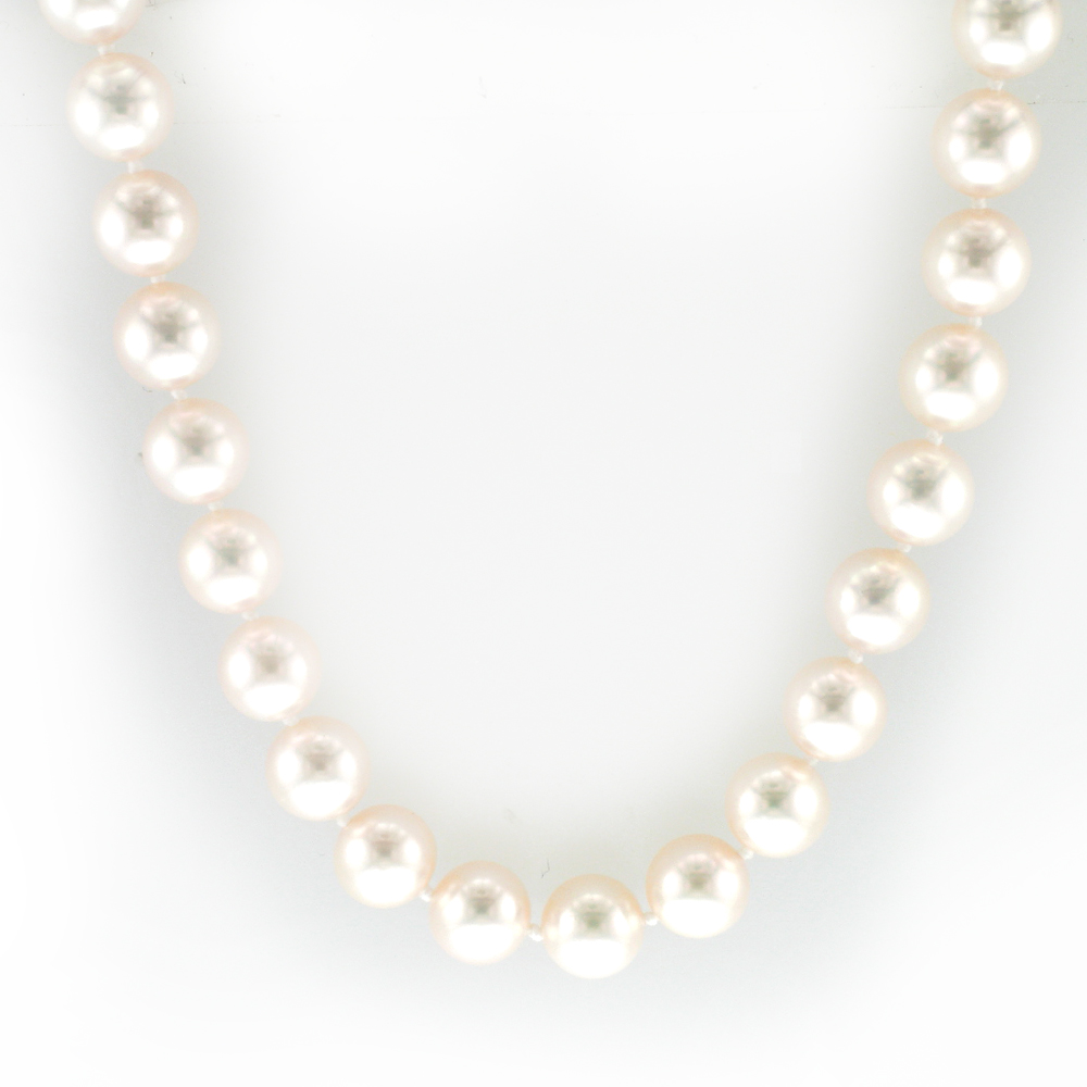 Pearl Necklace with Two Mystery Clasps