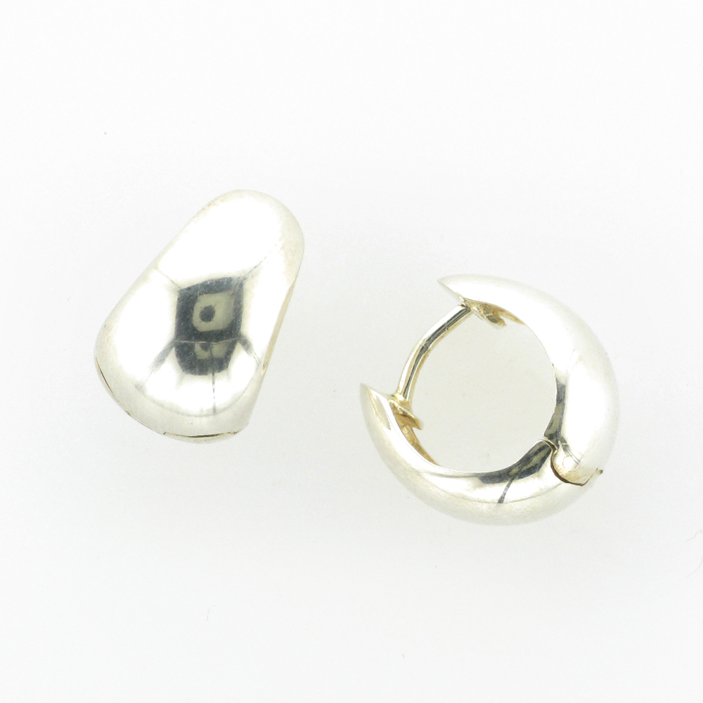 Concave Snap Earrings