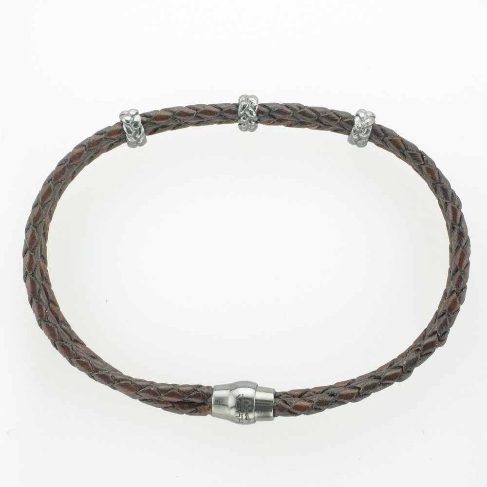 Brown Braided Bracelet