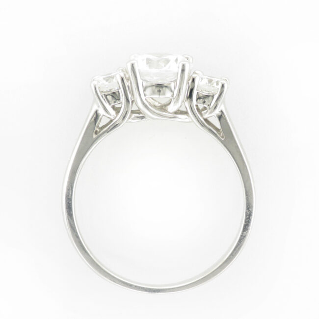 White Gold Trellis Ring