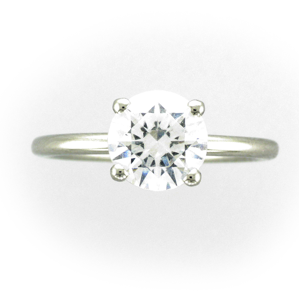 Solitaire Platinum Setting
