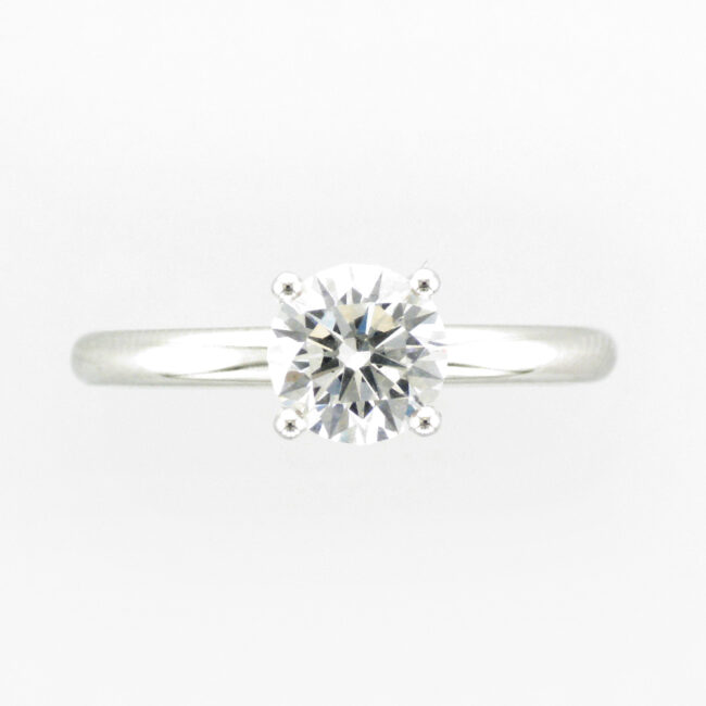 Diamond Prong Solitaire