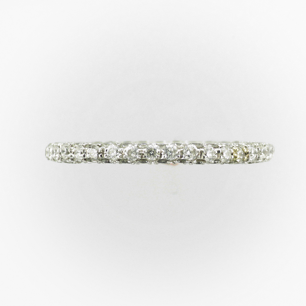 Platinum Pave Band