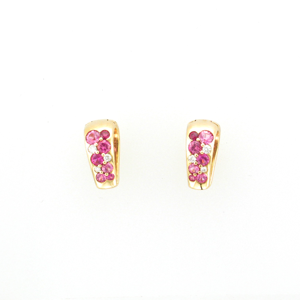 Tango Mini Huggie Earrings