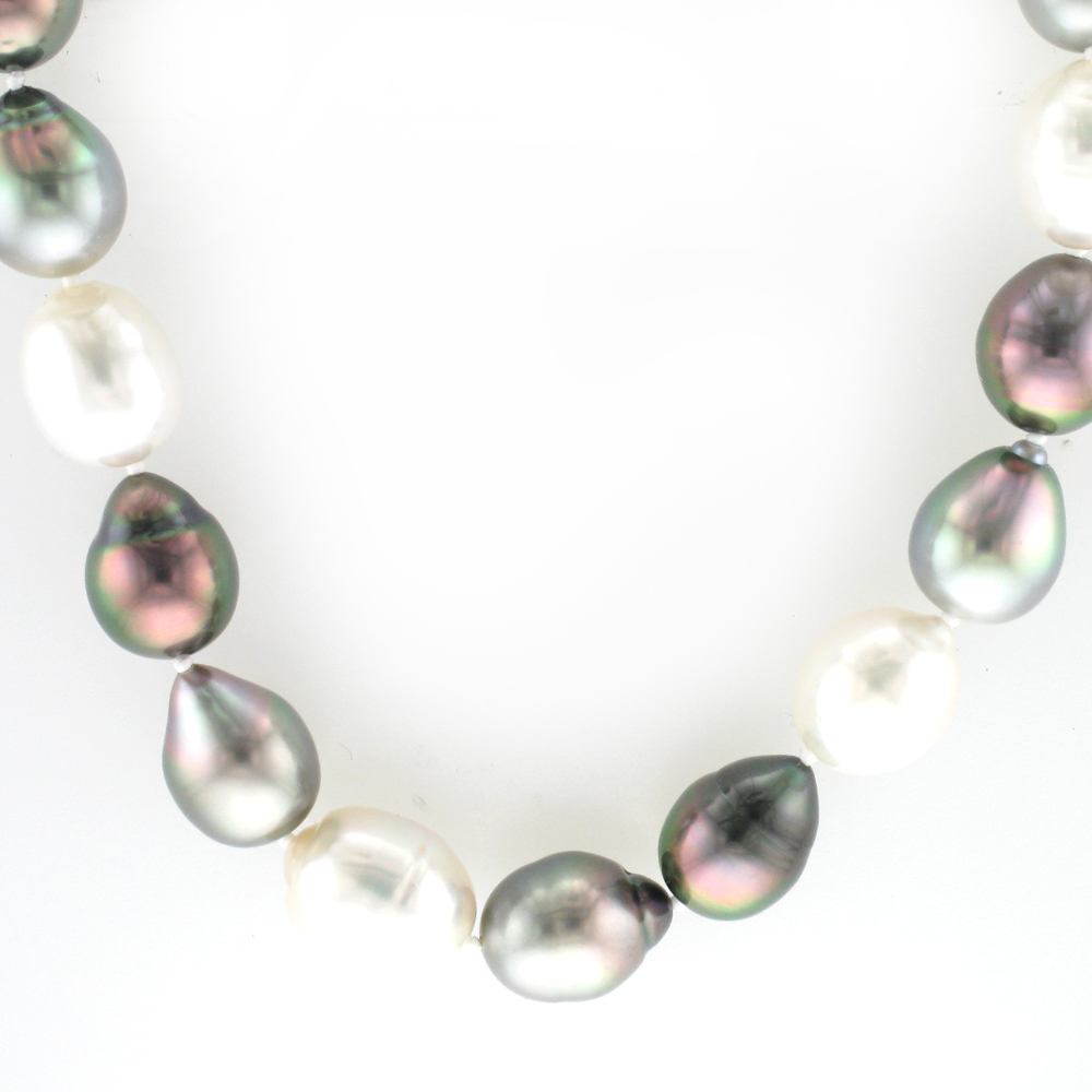 Pearl Pattern Necklace