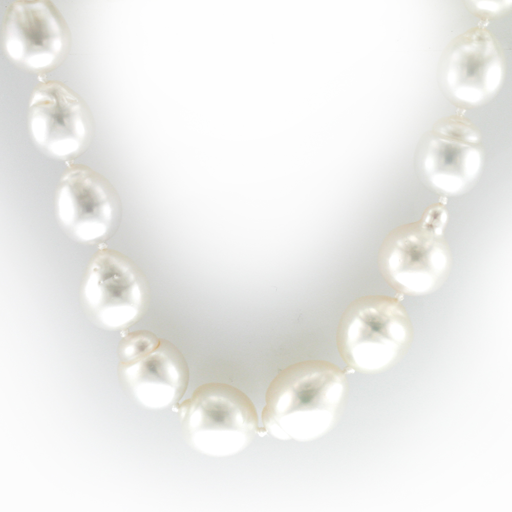 South Sea Baroque Pearl Necklace