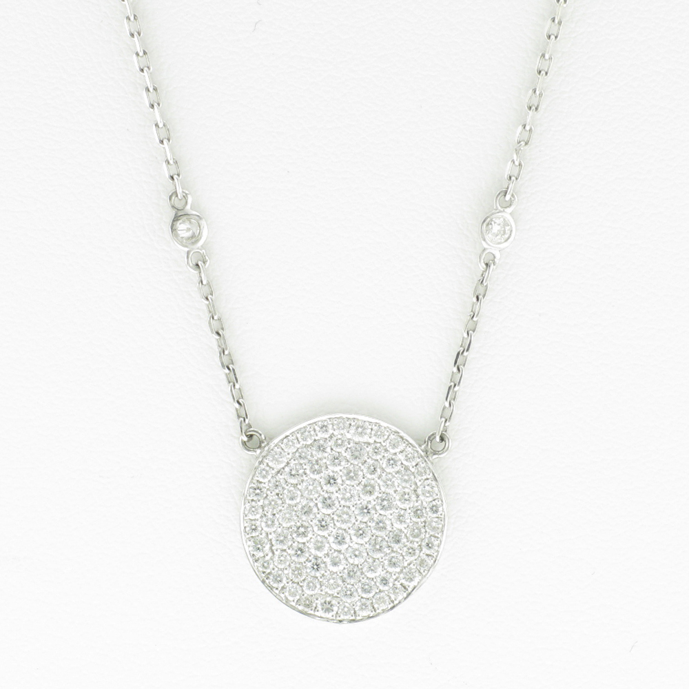 Pave Disk Diamonds by the Yard
