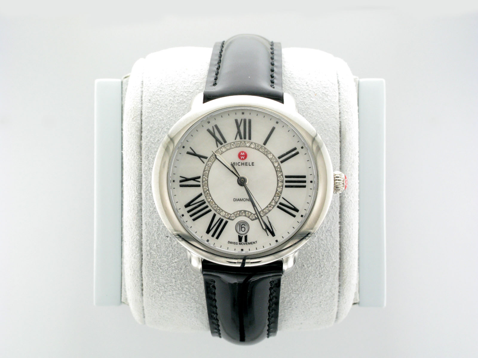 Round Mother of Pearl Women's Watch