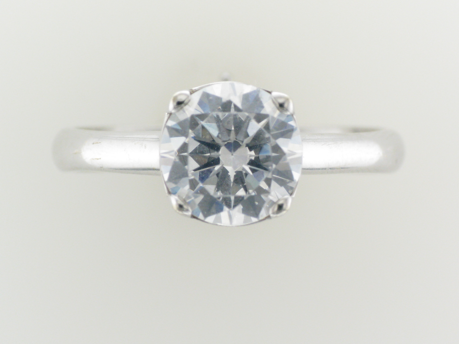 White Gold Solitaire Setting