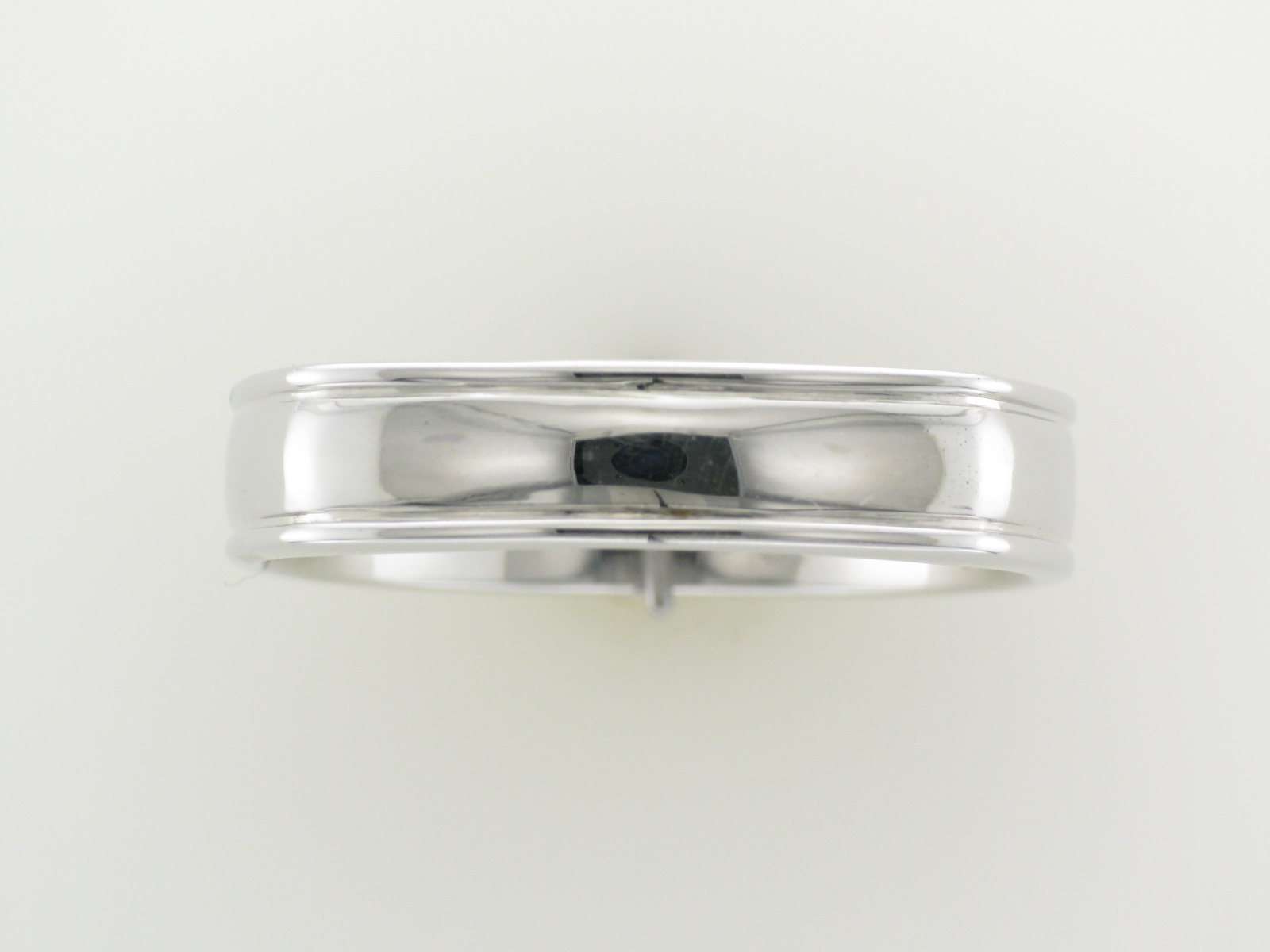 Square Wedged Wedding Band